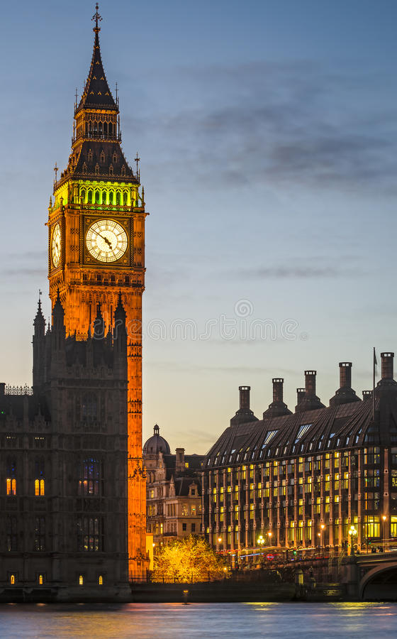 Londres, Ben grande fotografia de stock