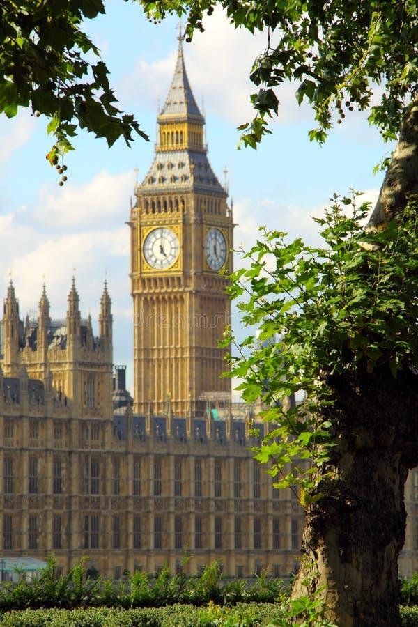 Londres, Ben grande imágenes de archivo libres de regalías