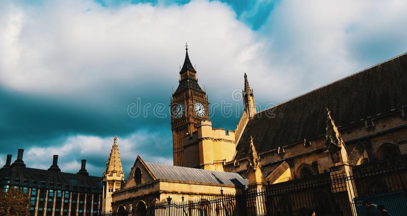 Londres Ben Westminster grande fotos de stock