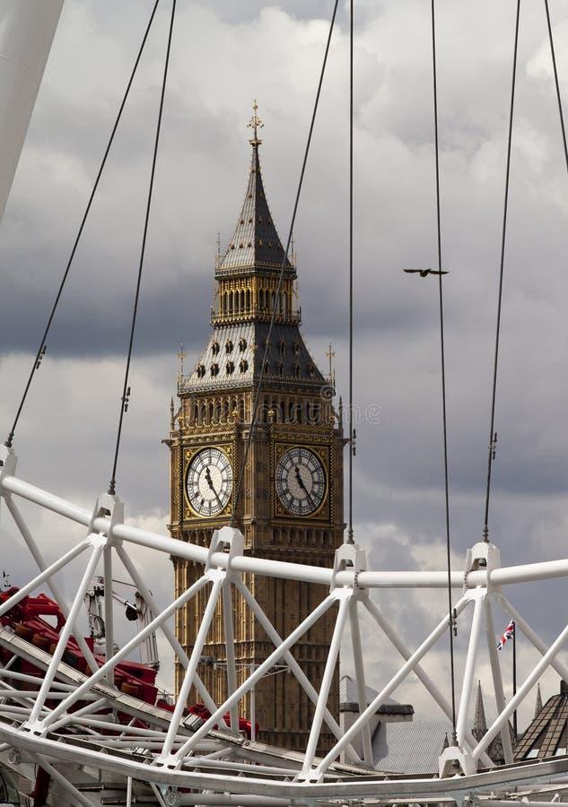 Londres Bigben fotos de archivo