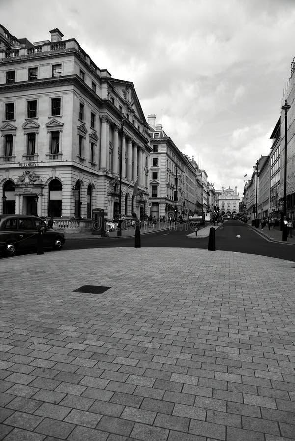 Londres blanco y negro fotos de archivo libres de regalías
