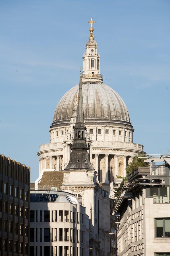 Londres, cathédrale de rue Paul à Londres photographie stock