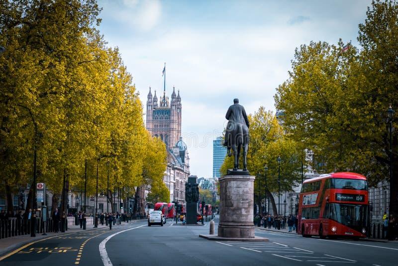 Londres colorida imagens de stock royalty free