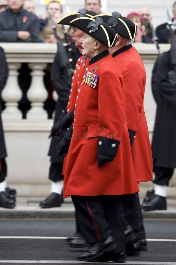 Londres - défilé de souvenir photographie stock libre de droits