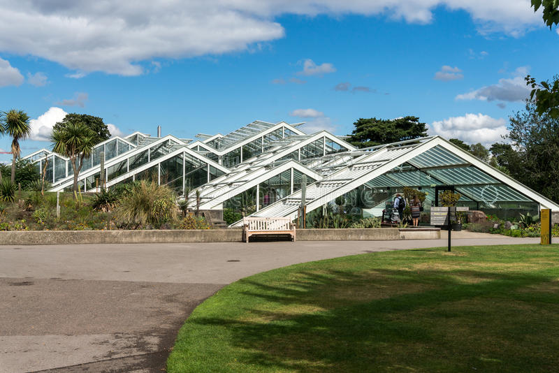 LONDRES - 7 DE SETEMBRO: Princesa do conservatório de Gales em Kew Garde fotos de stock