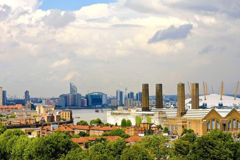 Londres del este foto de archivo libre de regalías