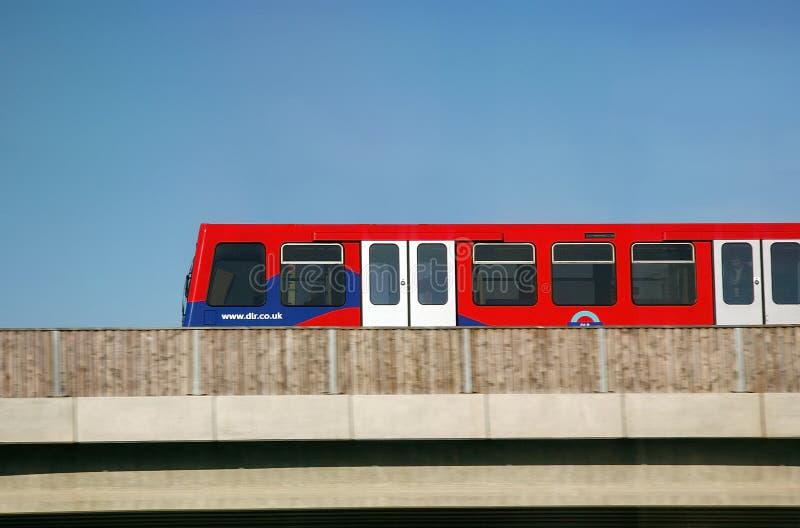 Londres DLR photos stock