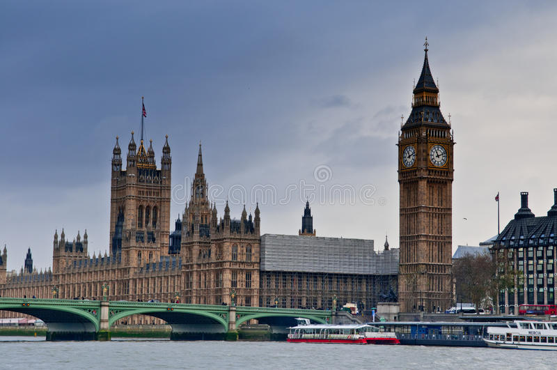 Londres en hiver photos libres de droits