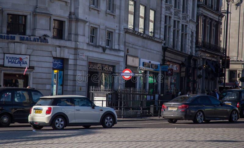 Londres fevereiro 2019 fotografia de stock