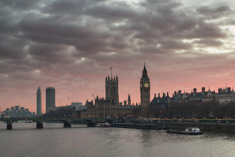 Londres grand Ben photos libres de droits