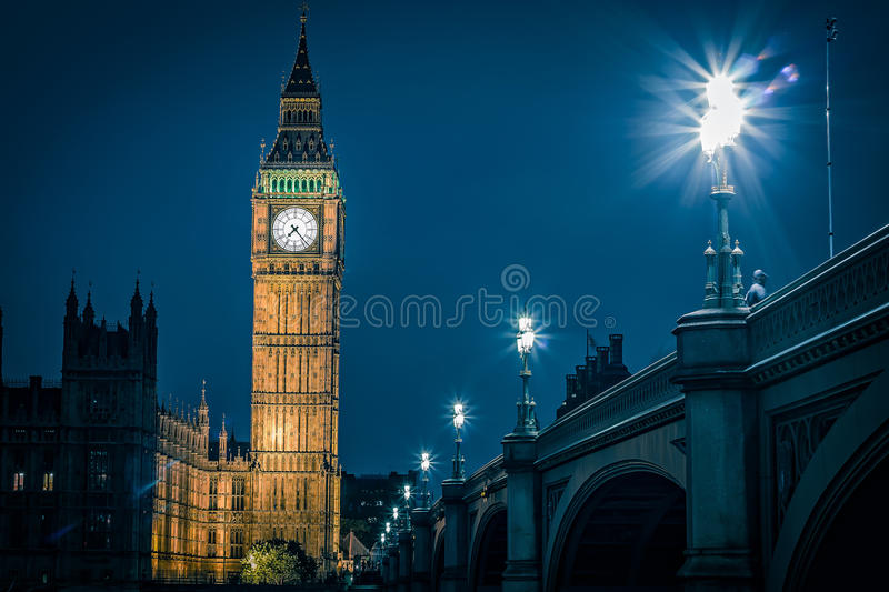 Londres grand Ben images libres de droits