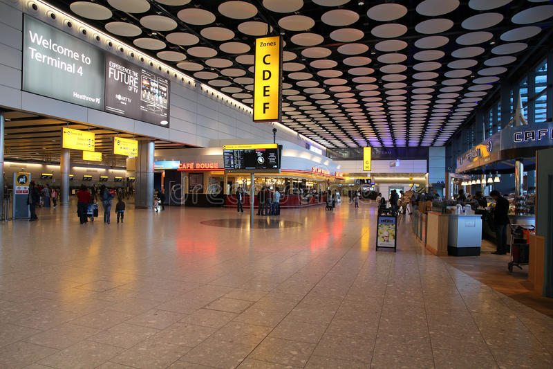 Londres Heathrow image libre de droits