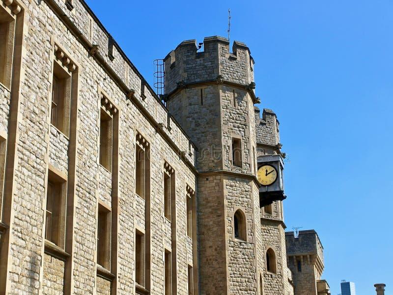 Londres hermoso visto durante un viaje de la ciudad a lo largo del río Támesis y de la arquitectura famosa imágenes de archivo libres de regalías