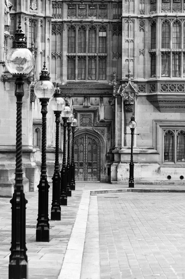 Londres, Hous del parlamento, palacio de Westminster fotografía de archivo libre de regalías