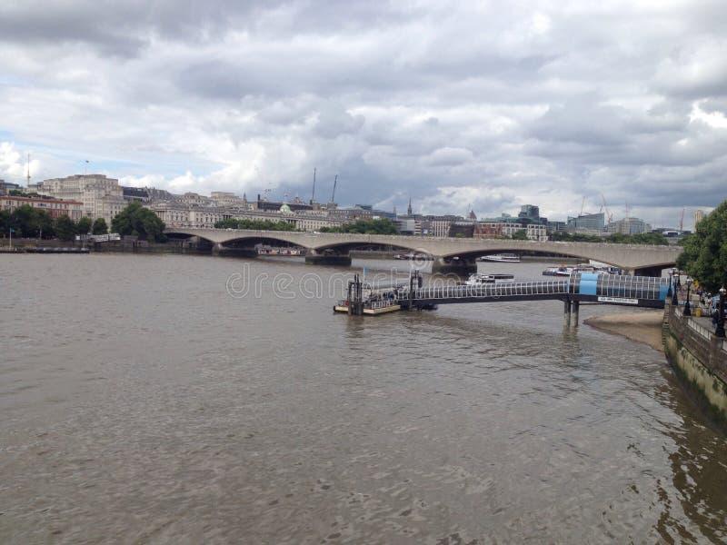 Londres l'explorant image libre de droits