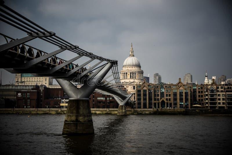 Londres - la Tamise photo libre de droits