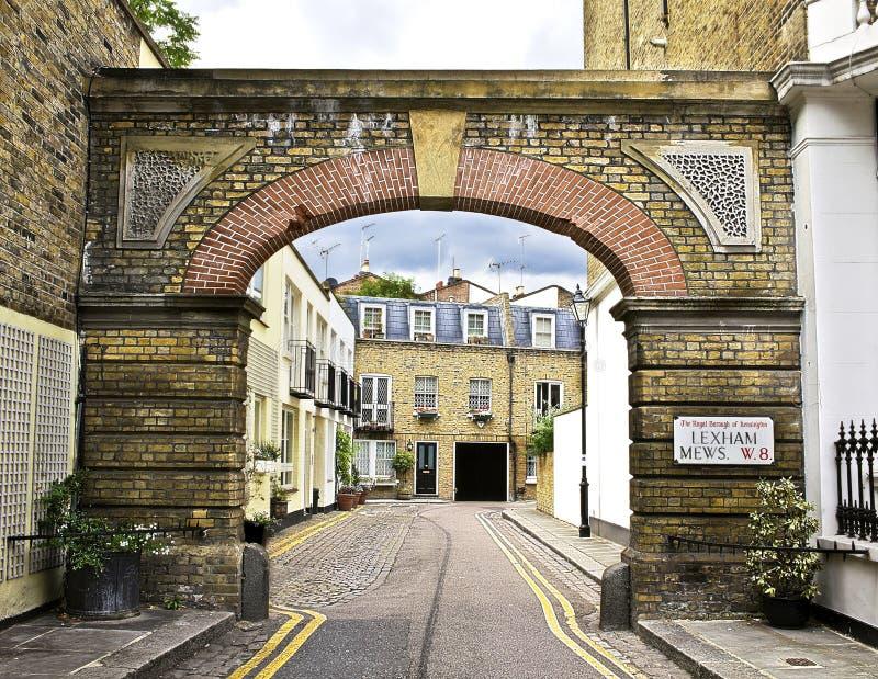 Londres maúlla fotografía de archivo libre de regalías