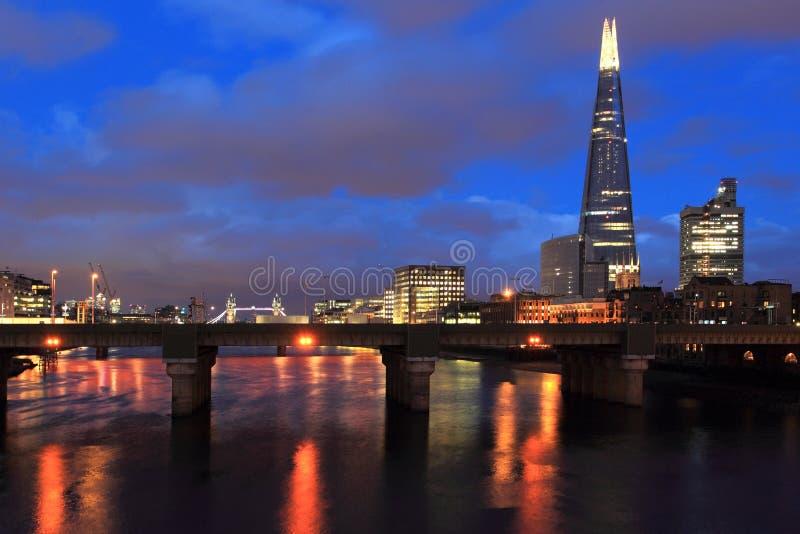 Londres moderno foto de archivo libre de regalías
