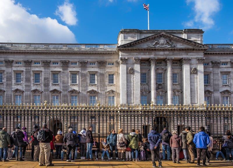 Londres-mudança do protetor imagem de stock