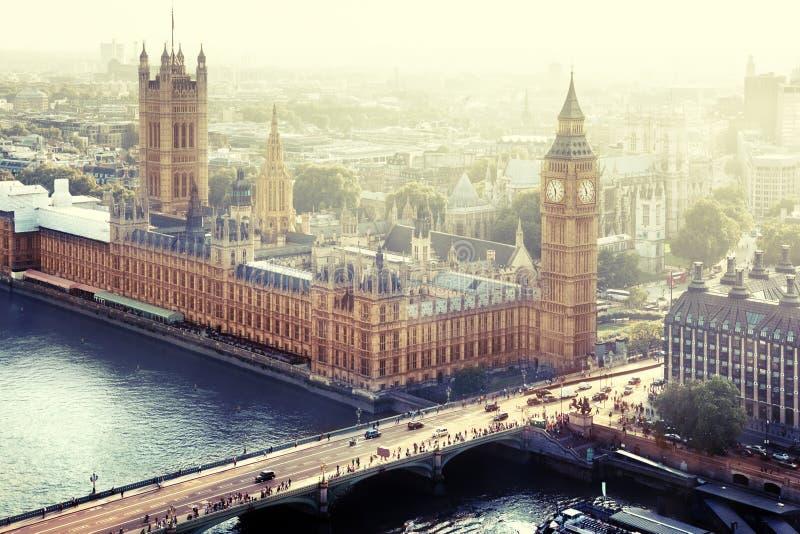 Londres - palais de Westminster photographie stock libre de droits