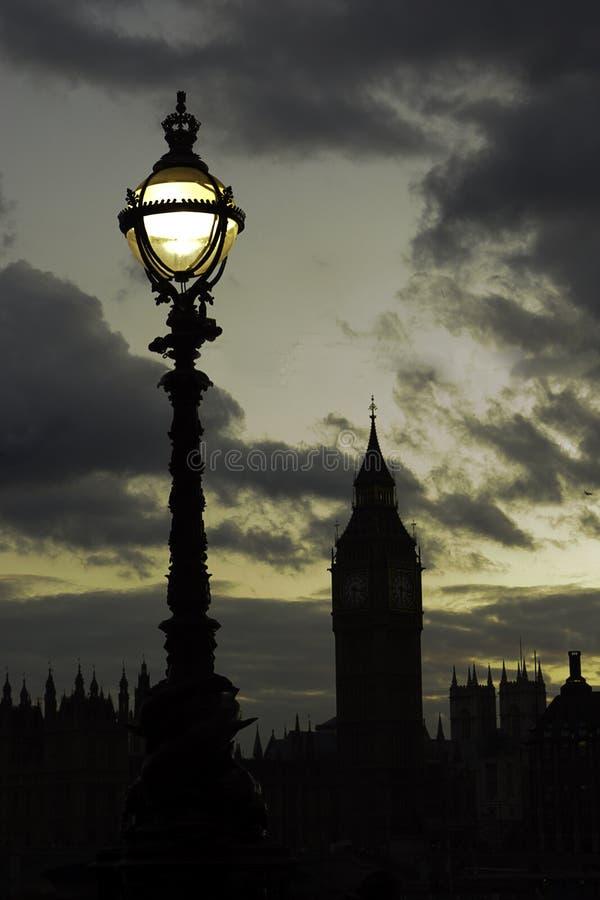 Londres par nuit photographie stock