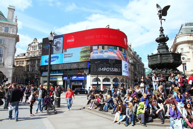 Londres Piccadilly photo stock