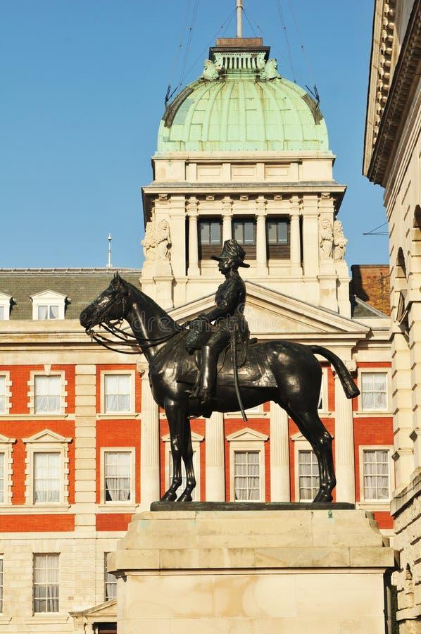 Londres, protectores de caballo foto de archivo libre de regalías