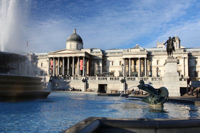 Londres, quadrado de Trafalgar imagem de stock royalty free