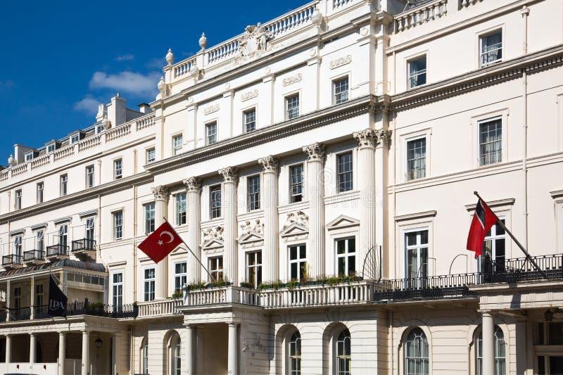 Londres, R-U 2017 : Ambassade de la Turquie dans Belgravia photos stock