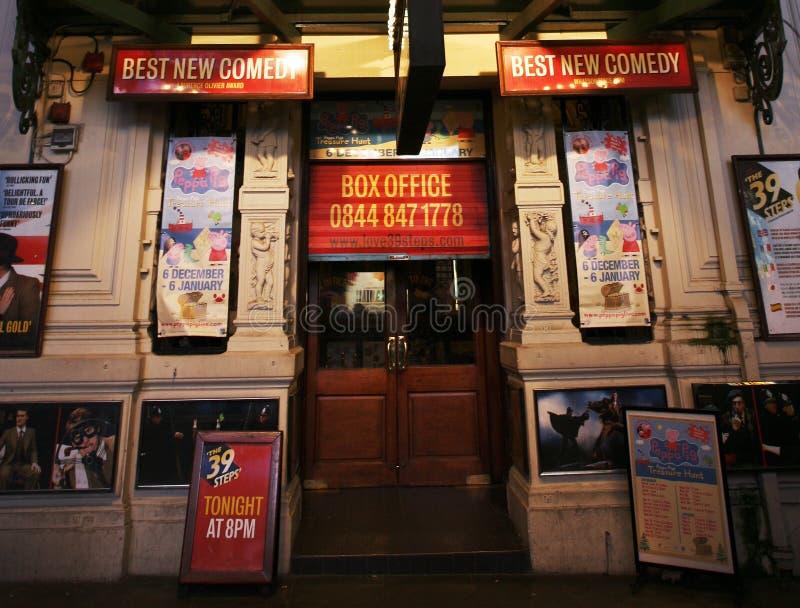 Théâtre de Londres, critère de théâtre photos libres de droits