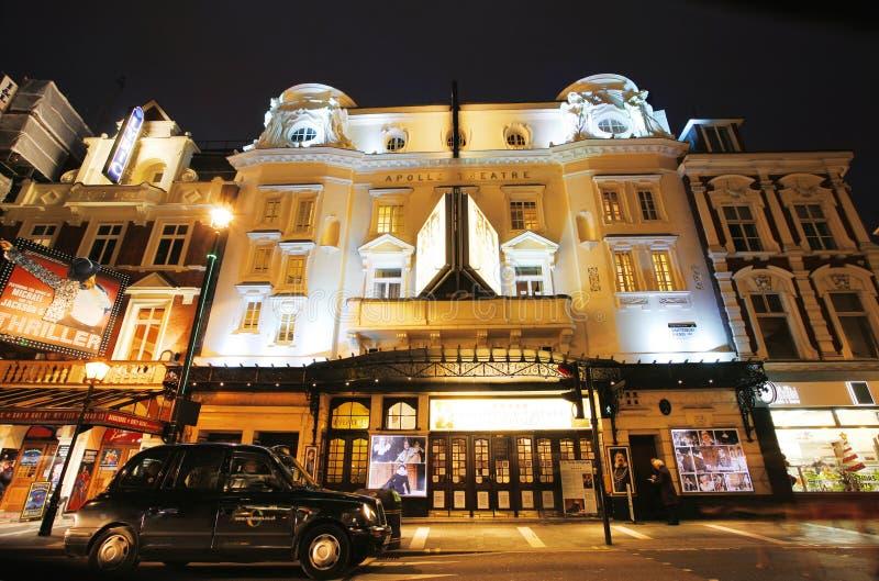 Théâtre de Londres, théâtre d'Apollo photo stock