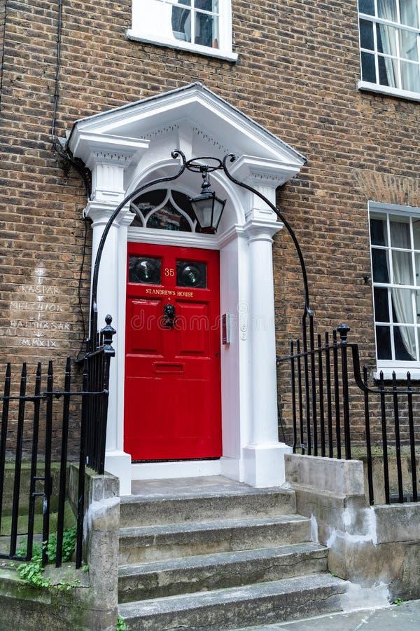 LONDRES, R-U - 1ER AVRIL 2019 : La Chambre de St Andrew sur la colline de St Andrew, ville de Londres photographie stock libre de droits