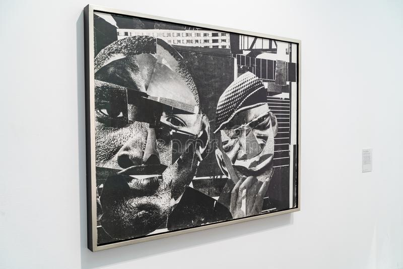 LONDRES, R-U - 1ER AVRIL 2019 : Tate Modern ? Londres Galerie, exposition images libres de droits