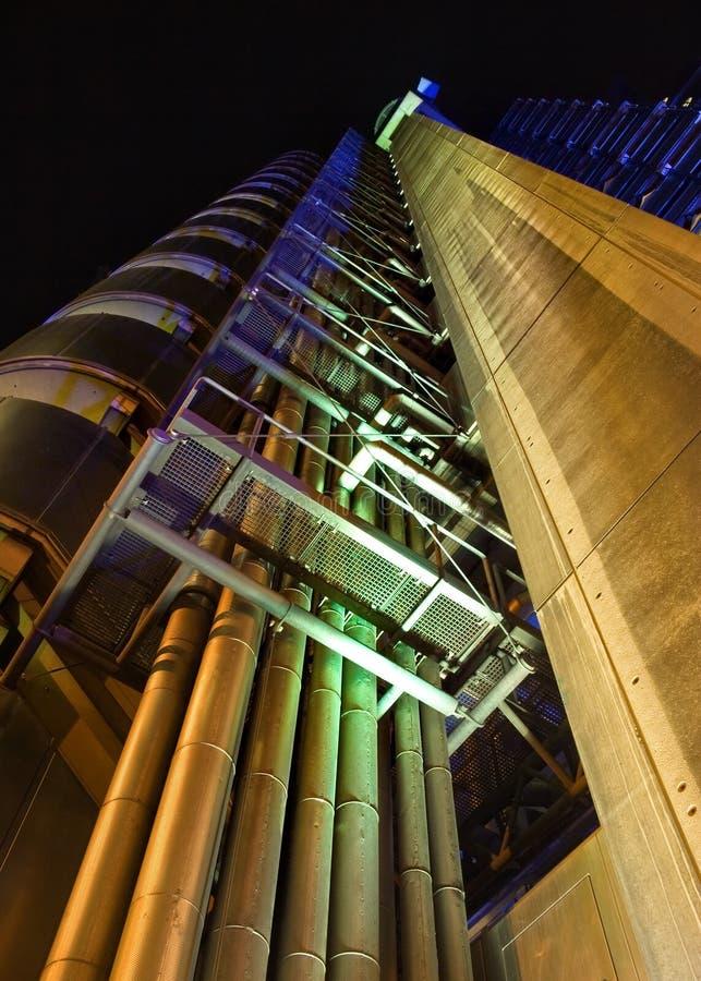 Londres, Reino Unido - 7 de outubro de 2006: Th da construção do ` s de Lloyd imagens de stock