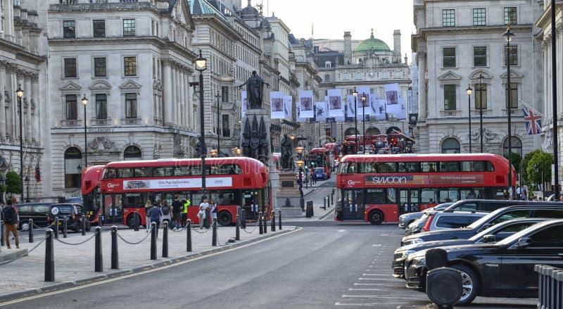 Londres, Reino Unido, junio de 2018 Visión desde Waterloo P imagen de archivo