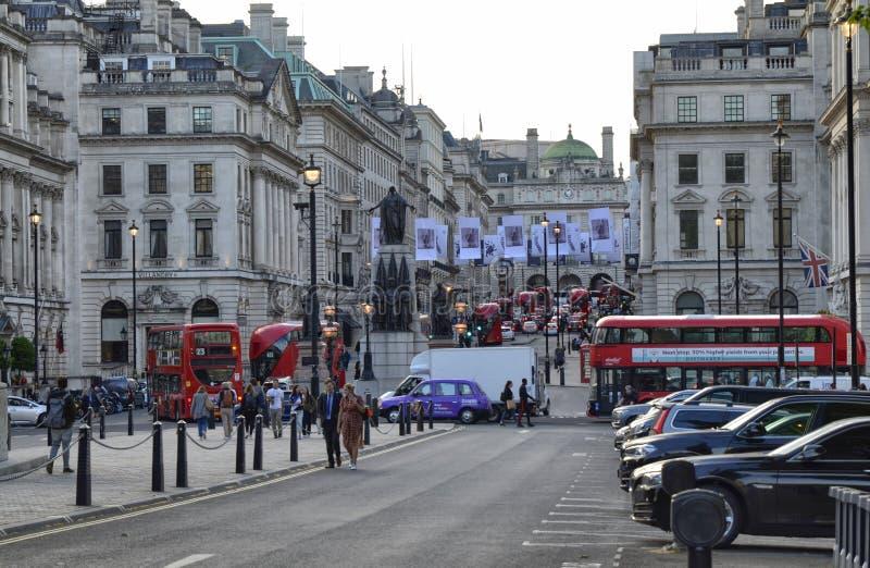 Londres, Reino Unido, junio de 2018 Visión desde Waterloo P fotografía de archivo libre de regalías