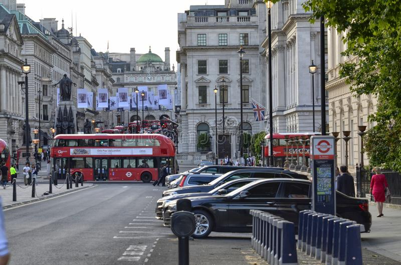 Londres, Reino Unido, junio de 2018 Visión desde Waterloo P imagenes de archivo