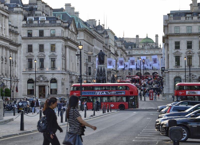 Londres, Reino Unido, junio de 2018 Visión desde Waterloo P foto de archivo
