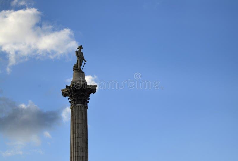 Londres, Reino Unido, o 14 de junho de 2018 Quadrado de Trafalgar imagens de stock royalty free