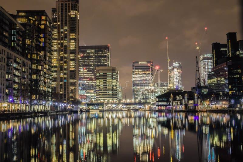 02/12/2017 Londres Royaume-Uni La ville des chefs de banque de l'Europe à Londres photos stock