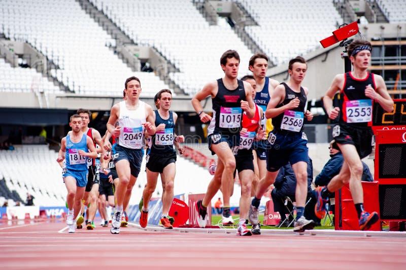 Londres Se Prepara: Acontecimientos Olímpicos De La Prueba Fotografía editorial