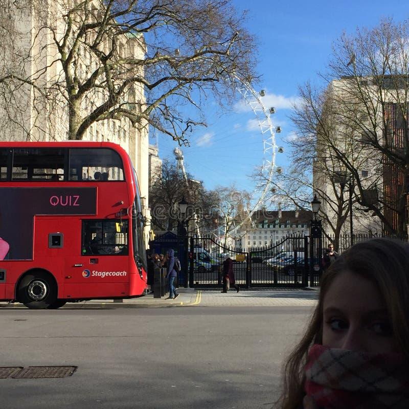 Londres Street🚧 imagem de stock royalty free