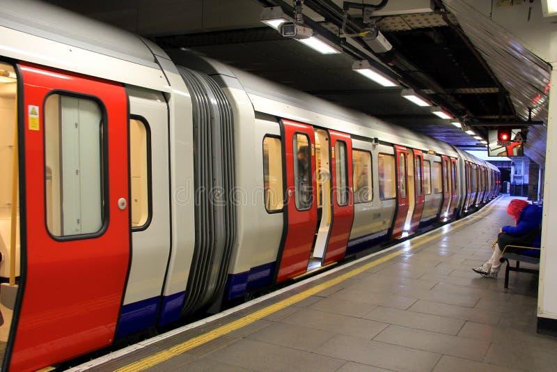 Londres Subterrânea Fotografia Editorial