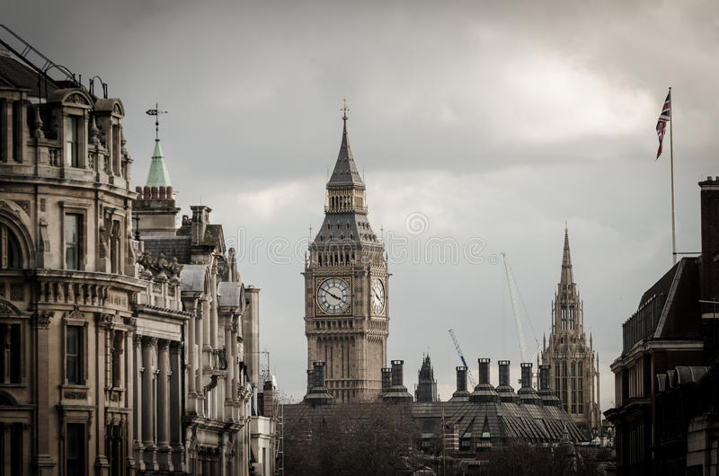 Londres, torre de Big Ben imagem de stock