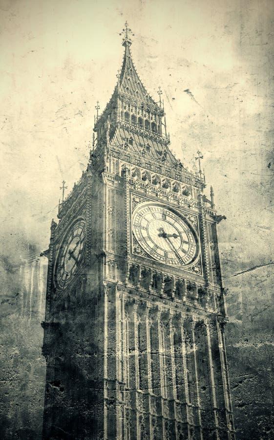 Londres velha fotografia de stock