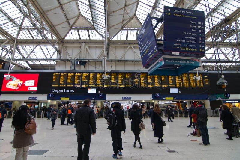 Londres Victoria Station fotos de stock royalty free