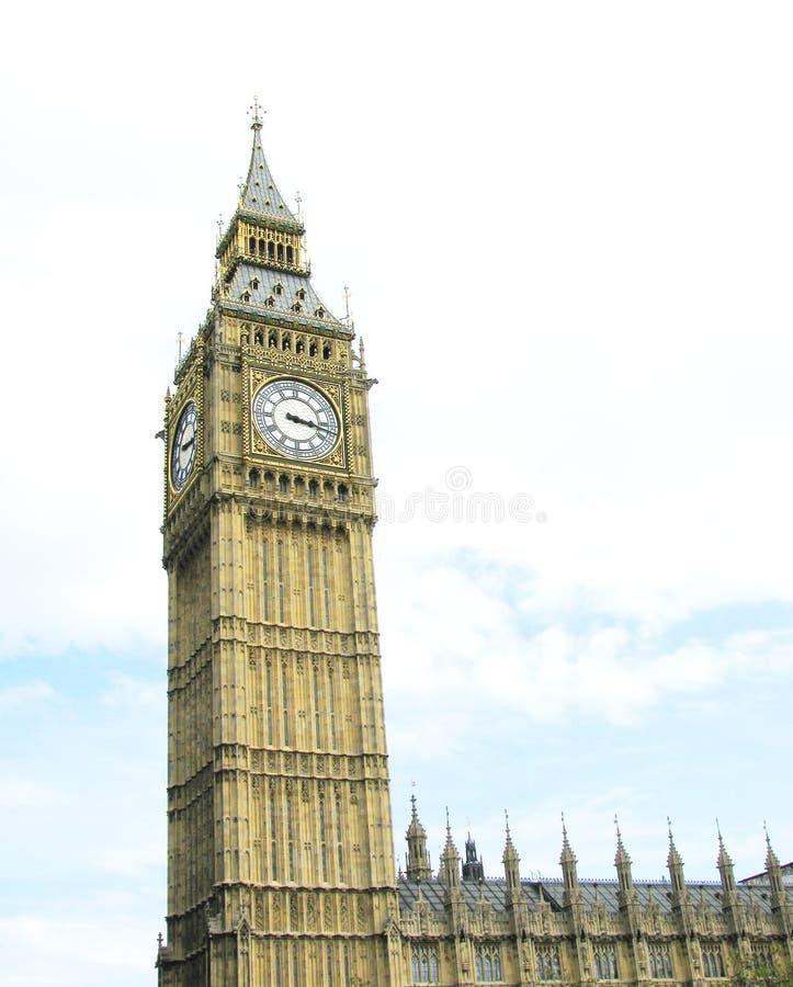 Londres Westminster ben grande fotografía de archivo