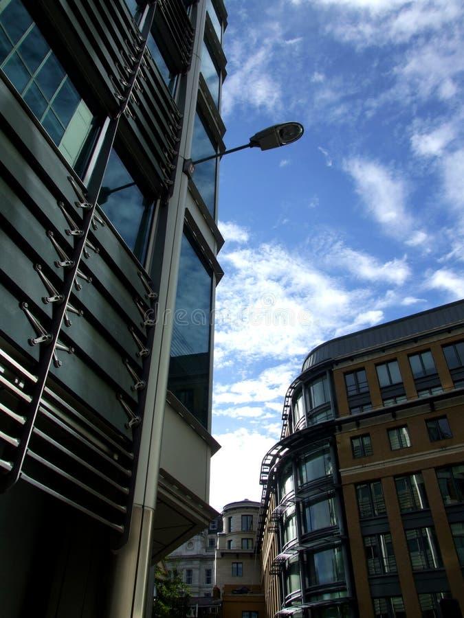 Londyńscy Szklani Budynki 37 obrazy stock
