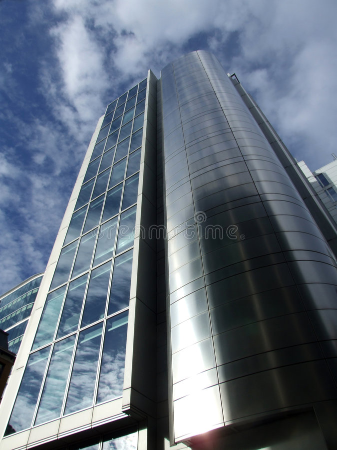 Londyńscy Szklani Budynki 38 zdjęcie stock