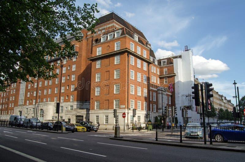 Londyńska klinika, Marylebone obrazy stock